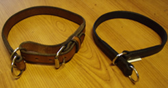 picture of 2 dog collars